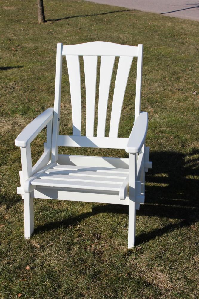 sandra armchair white eden wood. Black Bedroom Furniture Sets. Home Design Ideas