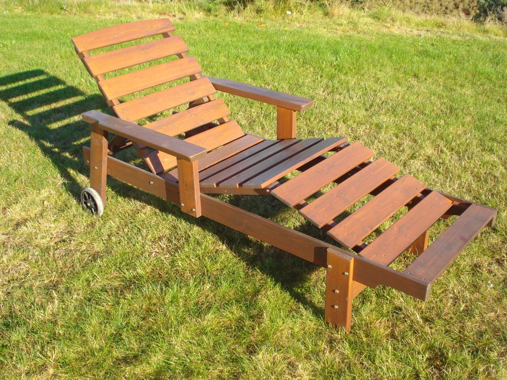 Deck Lounge Chair Eden Wood