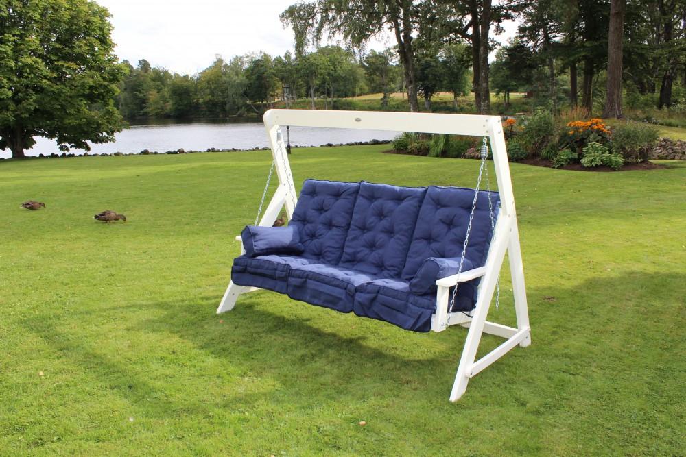 relax lisa 3 seater swing hammock white eden wood lisa 3 seater swing hammock   eden wood  rh   edenwood se
