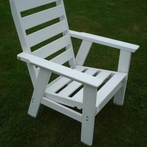 Furniture Groups  Sandhamn Armchair White Eden Wood