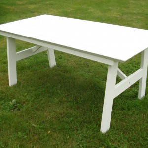 Furniture Groups Sandhamn Table White Eden Wood