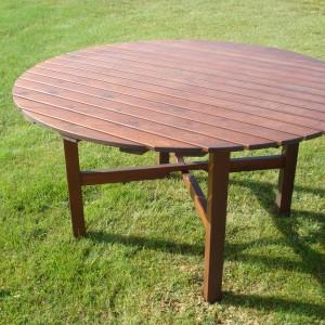 Café Klara Table Honey Eden Wood