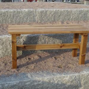 Furniture Groups Viking Bench 100 Braun Impregnated Eden Wood