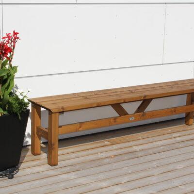 Furniture Groups  Viking Bench 190 Braun Impregnated Eden Wood