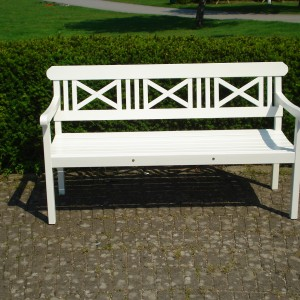 Furniture Groups Holmsund 3 Seater Sofa White Eden Wood