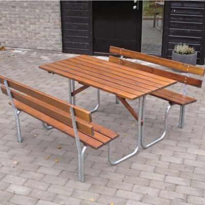 Picnic Tables Steel Picnic 150 Honey Eden Wood