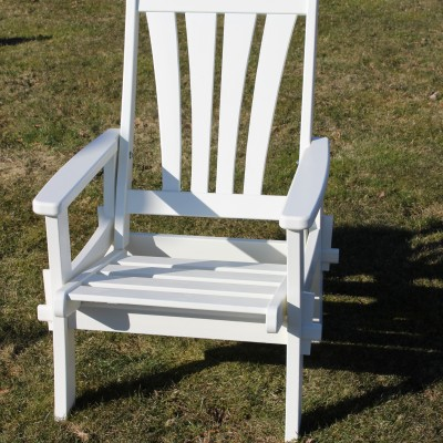 Furniture Groups Sandra Armchair White Eden Wood