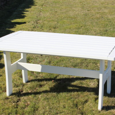 Furniture Groups Sandra Table White Eden Wood