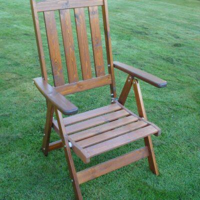 Furniture Groups Frida Armchair Honey Eden Wood