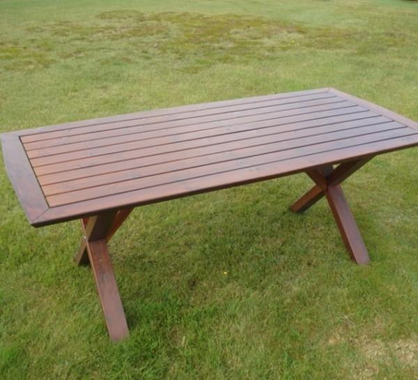 Furniture Groups Anna Table Honey Eden Wood