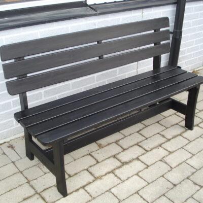Relax Magnus 3 Seater Sofa Schwarz Eden Wood