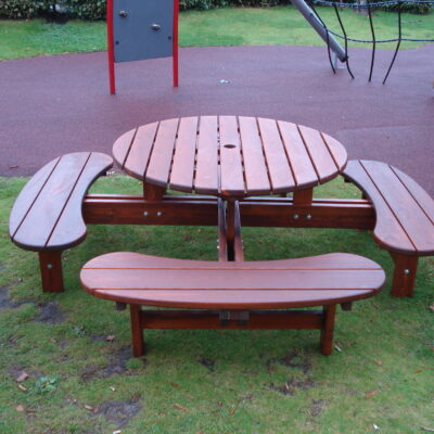 Picnic Tables Rondo Picolo Honey Eden Wood