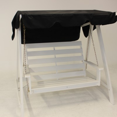 Relax Mellby 2 Seater Swing Hammock White Eden Wood