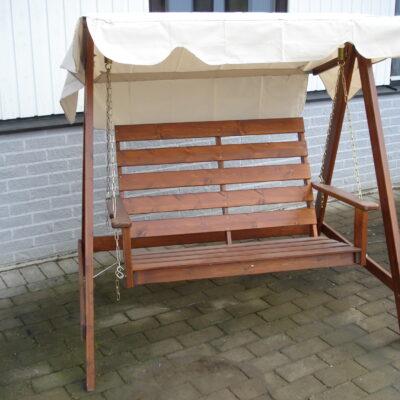Relax Mellby 2 Seater Swing Hammock Honey Eden Wood