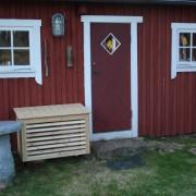 Other Heat Pump Cover VP123 Natural Eden Wood