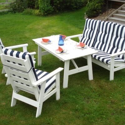 Furniture Groups Sandhamn Group White Eden Wood