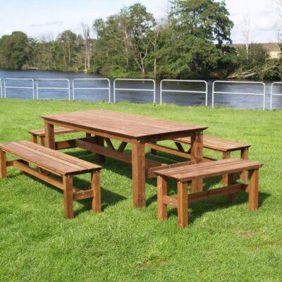 Furniture Groups Viking Group Impregnated Brown Eden Wood