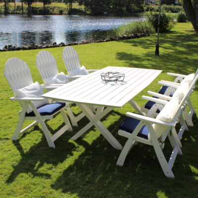 Furniture Groups Visby Group White Eden Wood