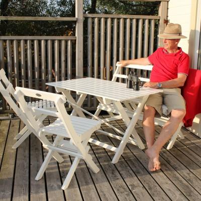 Café Torparen Group White Eden Wood