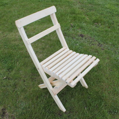 Café Torparen Folding Chair Natural Eden Wood