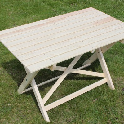Café Torparen Table Natur Eden Wood