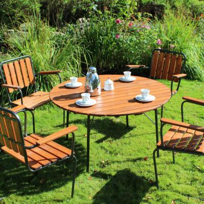Café Wilma Group 100 cm Honey Eden Wood