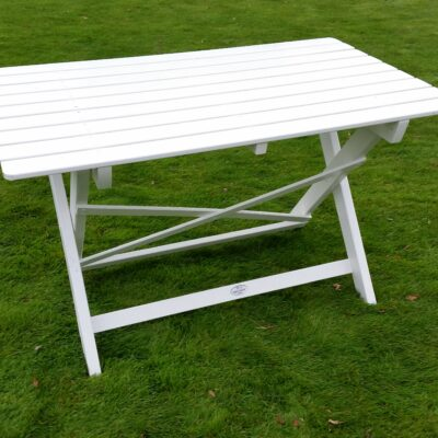 Café Torparen Table White Eden Wood