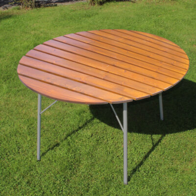 Café Wilma Table 100 cm Ø Honey Eden Wood